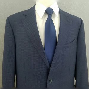 Canali 1934 Wool Sport Coat Working Cuffs Blazer